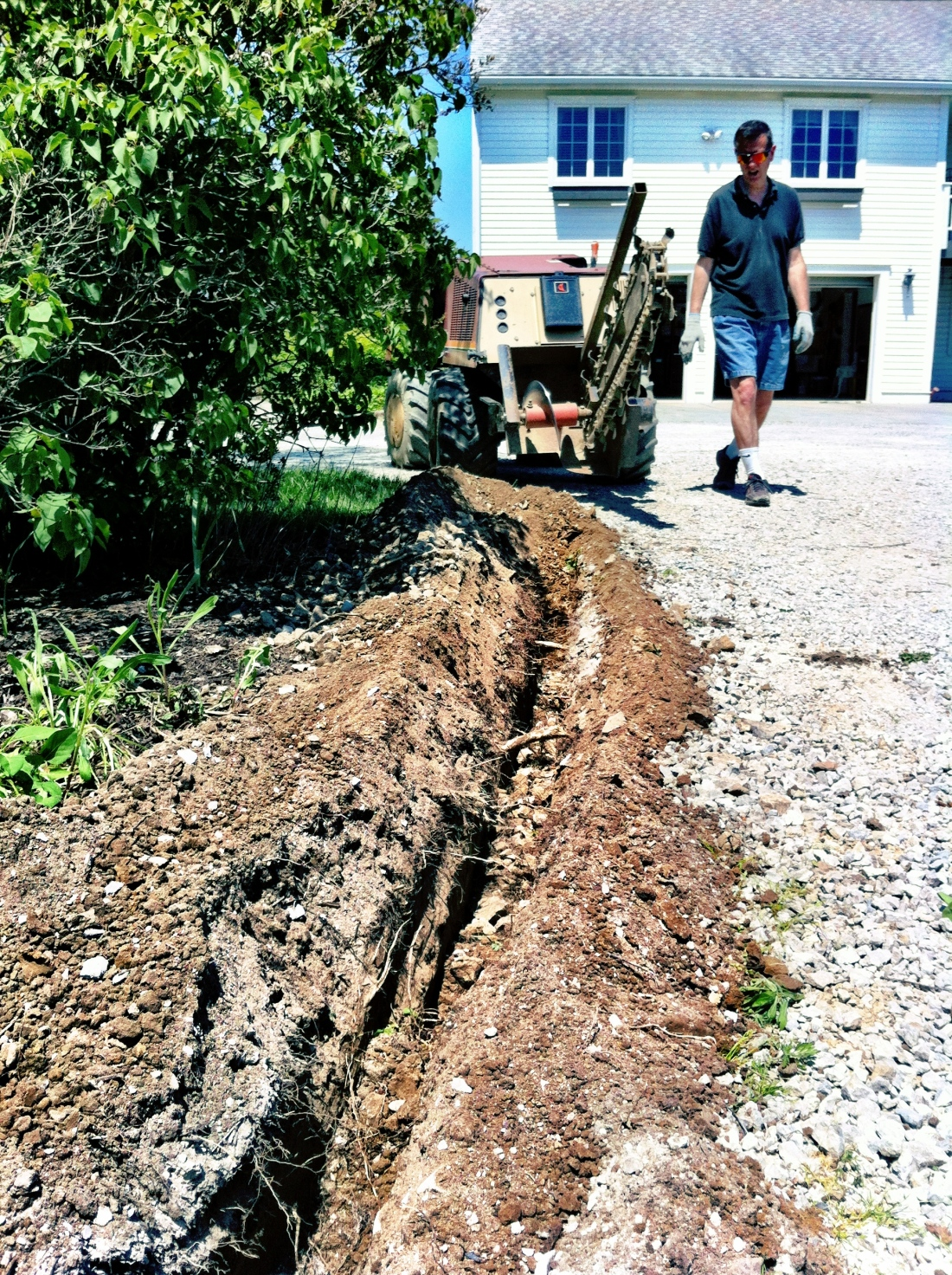 Digging Trenches with Dad