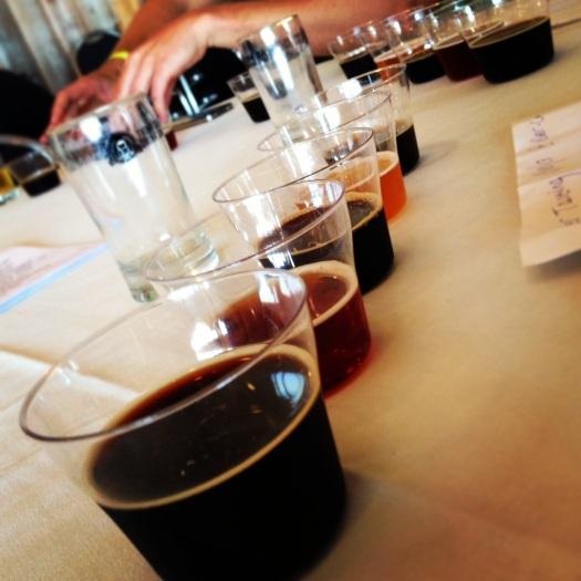 Beer Judging Tasters