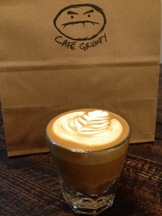 Cortado @ Café Grumpy in Manhattan