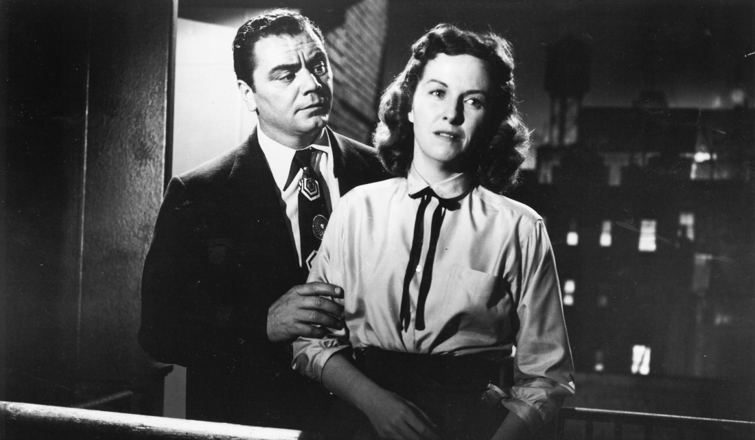 Ernest Borgnine and Betsy Blair in Marty
